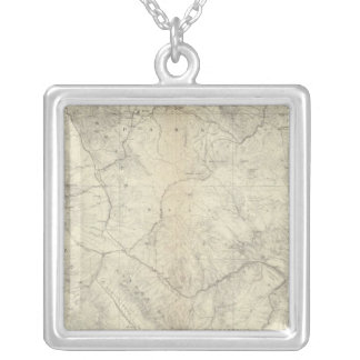 Central Colorado 2 Silver Plated Necklace