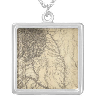 Central Colorado 3 Silver Plated Necklace