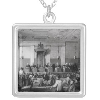 Central Criminal Court, The Old Bailey Silver Plated Necklace