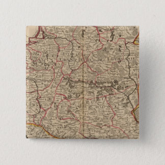 Central Europe 3 15 Cm Square Badge