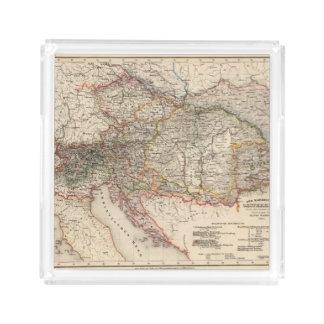 Central Europe Acrylic Tray