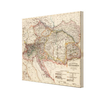 Central Europe Canvas Print