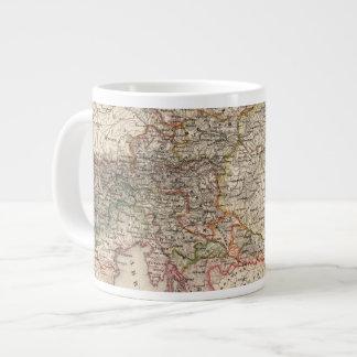 Central Europe Large Coffee Mug