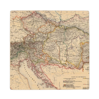 Central Europe Maple Wood Coaster