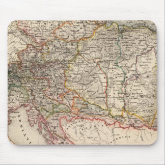 Central Europe Mouse Mat