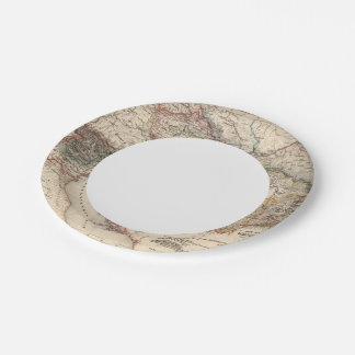 Central Europe Paper Plate