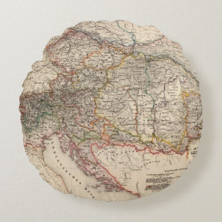 Central Europe Round Cushion