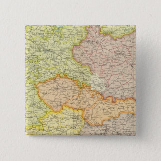 Central European states political 15 Cm Square Badge