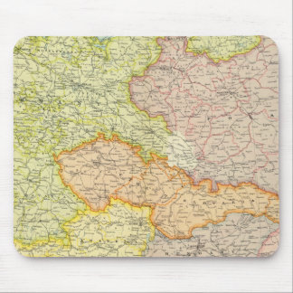 Central European states political Mouse Mat