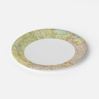 Central European states political Paper Plate