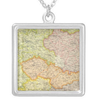 Central European states political Silver Plated Necklace