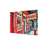 Central Grocery in the French Quarter Canvas Prints