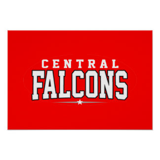Central High School; Falcons Posters
