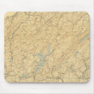 Central Highlands of New Jersey Mouse Mat