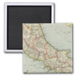 Central Italy Square Magnet