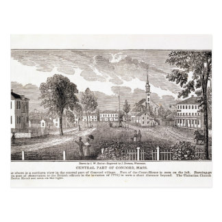 Central of Concord, from 'Historical Postcard