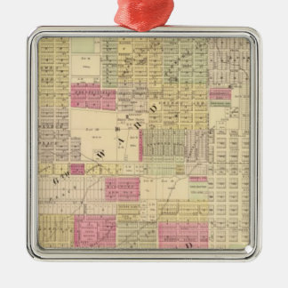 Central Omaha, Nebraska Christmas Ornament
