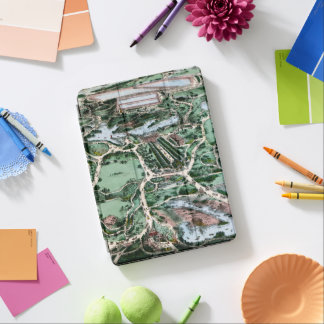 CENTRAL PARK, 1860 iPad AIR COVER