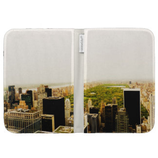 Central Park and the New York City Skyline Kindle Folio Cases