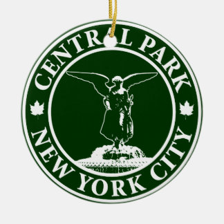 Central Park Angel Christmas Ornament