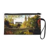 Central Park Autumn - New York City Wristlet Clutch