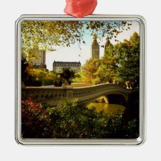 Central Park Autumn - New York City Christmas Ornament