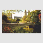 Central Park Autumn - New York City Rectangle Stickers