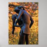 Central Park Autumn: Romeo & Juliet Statue 01 Poster