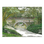 Central Park Bridge and Path Post Card