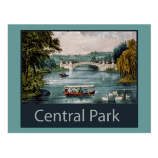 central park by  postcard