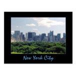 Central Park & Central Park South Postcard
