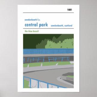 Central Park, Cowdenbeath Poster