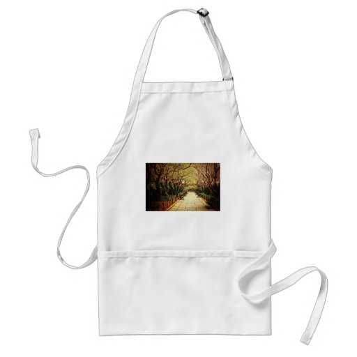 Central Park Fairy Tale Spring Path - New York Aprons