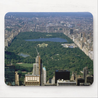 Central Park from the south, New York City, USA Mouse Pad