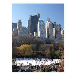 Central Park Ice Rink Post Cards