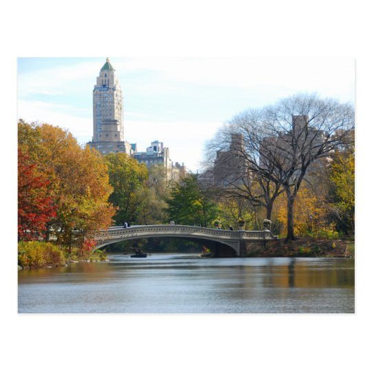 Central Park in Autumn - NYC postcard