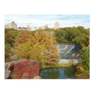 Central Park in Autumn Postcards