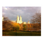 Central Park in Fall Post Card