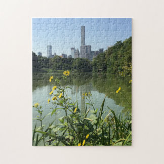 Central Park Lake New York City NYC Photo Puzzle
