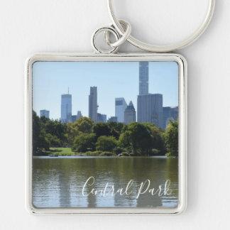 Central Park Lake New York City NYC Photography Key Ring