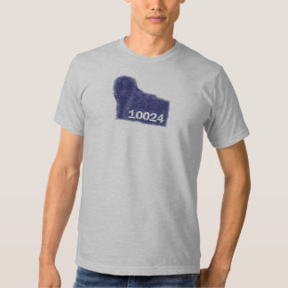 Central Park Lamp Post in 10024 zipcode Tshirts