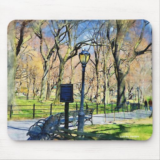 Central Park  Mousepad