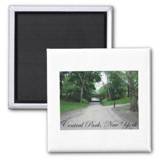Central Park, New York 2 Square Magnet