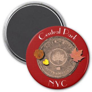 Central Park New York City 7.5 Cm Round Magnet