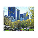 Central Park, New York City Canvas Prints