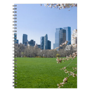 Central Park New York City in Spring - Notebook