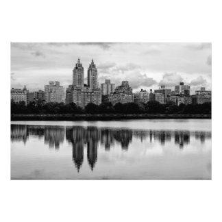 Central Park New York City Skyline Photo Art