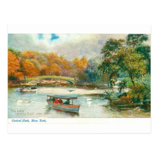 Central Park New York Postcard