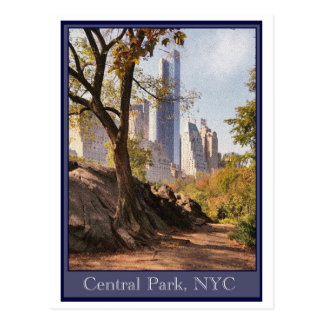 Central Park, NYC Postcards