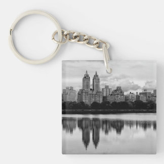Central Park, NYC Skyline Key Ring